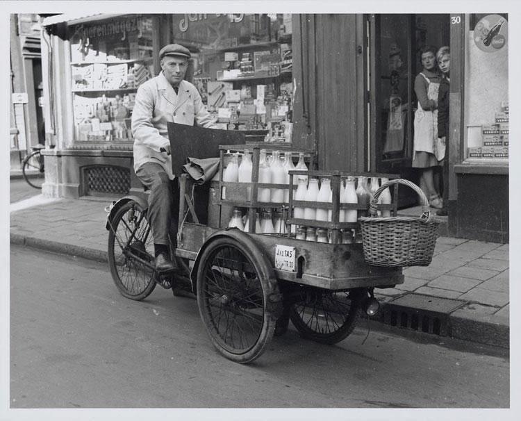 Collecte de lait maternel